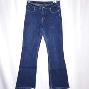 Tommy Hilfiger dark wash boot cut Jeans sz 9